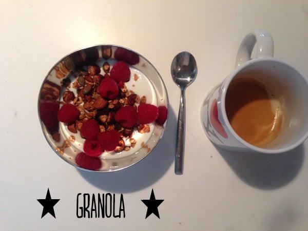 Le Granola fait-maison