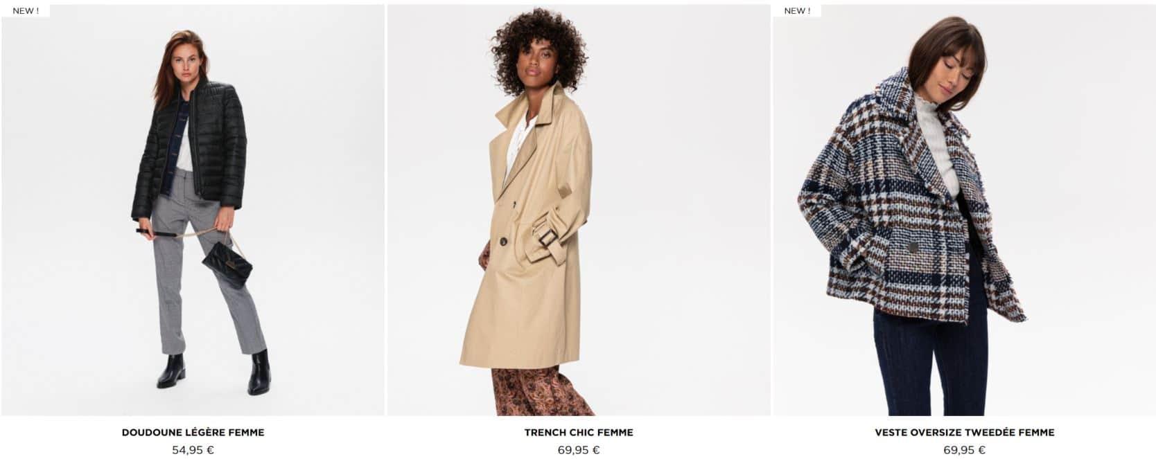 manteaux chic pour femmes