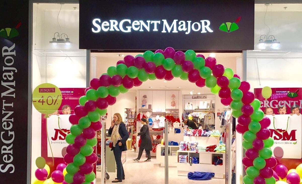 boutique sergent major extérieur