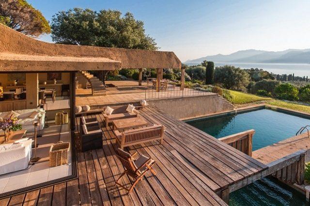 location villa de luxe saint florent corse