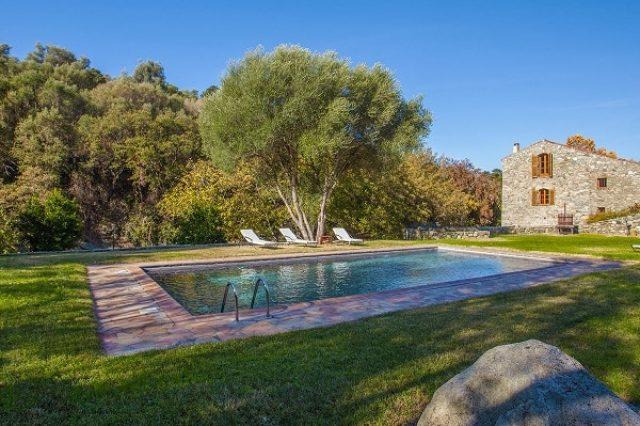 villa prestige il mulino ile-rousse en location